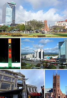 Palmerston North City in North Island, New Zealand