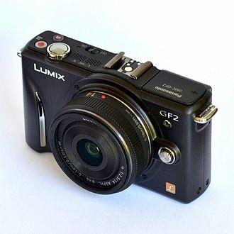 Panasonic Lumix DMC-GF2 - Image: Panasonic GF2