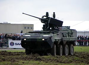 Mk44 Bushmaster II - RCWS-30 mount on Czech Pandur II.