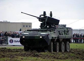Mk44 Bushmaster II - RCWS-30 mount on Czech Pandur II.