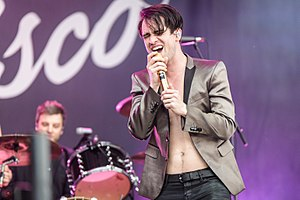 Brendon Urie - Brendon Urie performing in Germany at Rock im Park 2016
