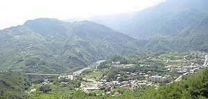 Fuxing District, Taoyuan - Image: Panoramic Luofu
