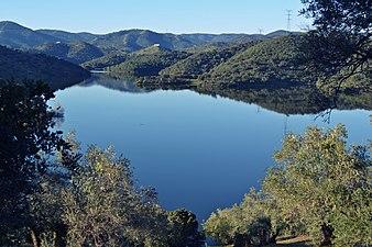 Pantano del Yeguas. Parque Natural Sierra de Cardeña y Montoro.JPG