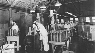 Pantex Plant - Conventional weapons being assembled at Pantex in 1944