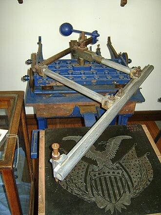 Pantograph - Image: Pantograph etching mechanism