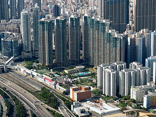 Olympian City Housing and shopping complex in Hong Kong