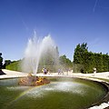 Park of Versailles, Bassin de Flore with Fountain Running.jpg