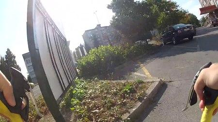 File:Parking Gate Crash.webm