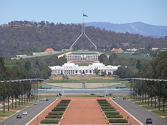 John Smith Murdoch - Provisional and New Parliament House, Canberra, 2006