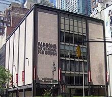 Parson New School Of Design Ranking