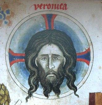 Passional of Abbess Kunigunde - Image: Pasionál Veronica