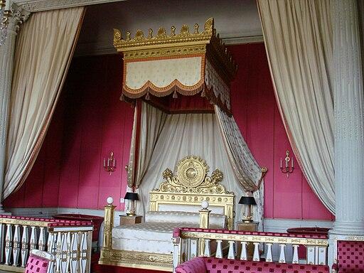 Pat cu baldachin-Le Grand Trianon - Franta