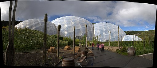 Path to a Biome, Eden Project, Cornwall, UK (4990875727)