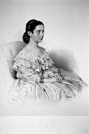 Pauline Lucca - Pauline Lucca, Lithography by Josef Kriehuber, 1862