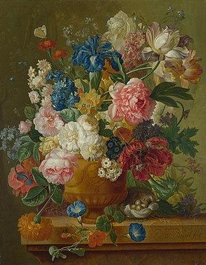 Paul Theodor van Brussel - van Brussel - Flowers in a Vase