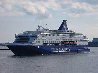 MS Pearl Seaways - Pearl Seaways in Copenhagen, Denmark in 2014