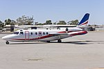 Pel-Air (VH-KNS) IAI Westwind 1124 taxiing at Wagga Wagga Airport.jpg