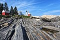 Pemaquid Point Lighthouse Under Blue Sky.jpg