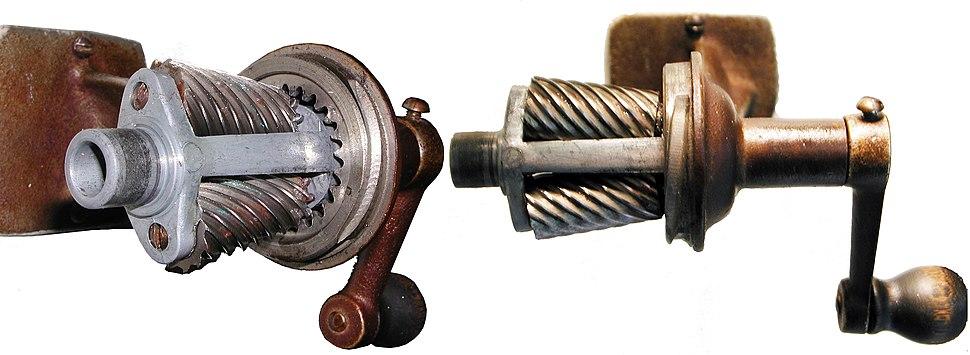 Pencil sharpener mechanism