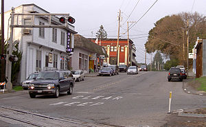 Penngrove, California - Main Street in Penngrove