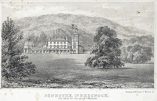 Pennoyre, Co.Brecknock: the seat Of Col. Lloyd V. Watkins
