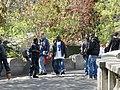 """People at Montmartre """"selling"""" trinkets.JPG"""