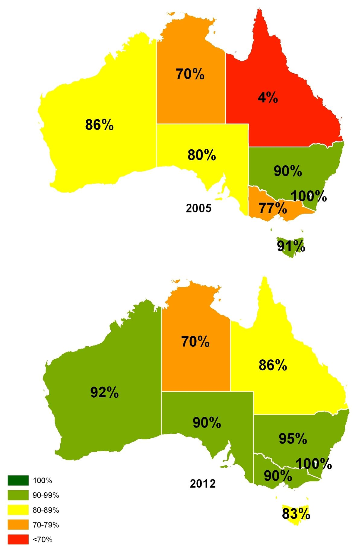 Water Fluoridation In Australia Wikipedia - Sodium fluoride drinking water mapping in the us