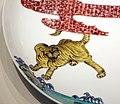Periodo edo, piatto con tigre tra i bambù, 1700 ca. 02.jpg