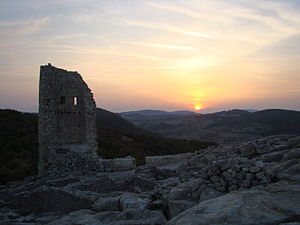 Perperikon - Image: Perperikon Medieval Walls