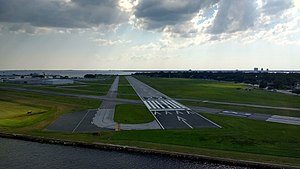 Peter O. Knight Airport - Image: Peter O Knight Airport 2017