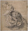 Peter Paul Rubens - Young woman kneeling to the left, her head resting on her right hand.jpg