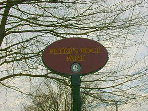 Peter's Rock - The entrance in 2008