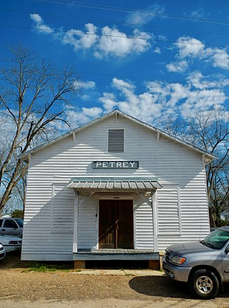 Petrey, Alabama - Petrey, Alabama in 2012