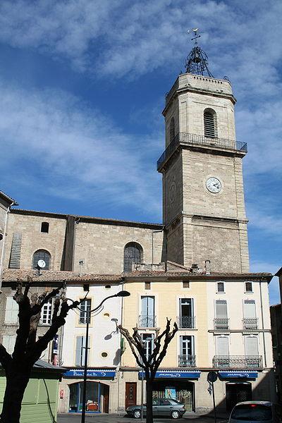 Pézenas (Hérault) - collégiale Saint-Jean.