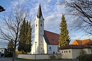 Goldwörth - Image: Pfarrkirche hl. Alban Goldwörth