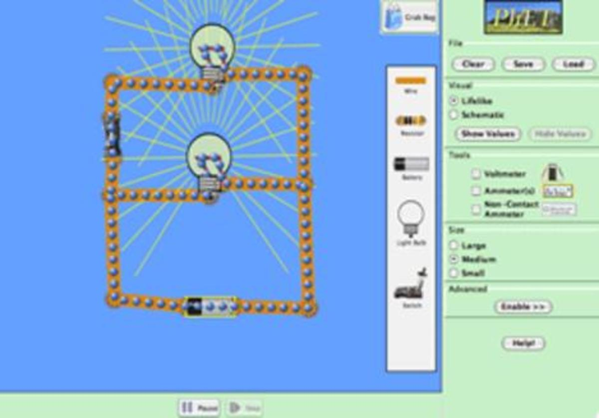 Phet Interactive Simulations Wikipedia This Simulation Allows Students To Build A Virtual Circuit Using