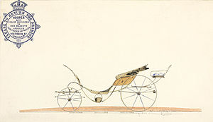 Phaeton (carriage) - Hooper's - royal coachbuilders - stylish design for a phaeton