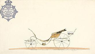 Phaeton (carriage) - Hooper's - royal coachbuilders - stylish design for a phaeton
