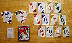 Phase 10 Karten