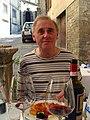 Phillip at lunch, Cortona, Tuscany, 2009 - Flickr - PhillipC.jpg