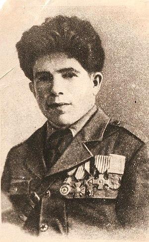 Ahmadiyya Jabrayilov - Photo of Jabrayilov published in Nedelya (1960). The original is in his house-museum in Shaki.