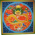 Phyang Monastery - ceiling paiting2.jpg