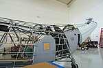 Piasecki HRP-1 Flying Banana, in restoration - Evergreen Aviation & Space Museum - McMinnville, Oregon - DSC00667.jpg