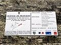 Picquigny château (panneau info restauration) 1.jpg