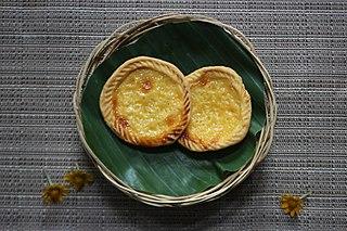 Milk pie Indonesian traditional pie