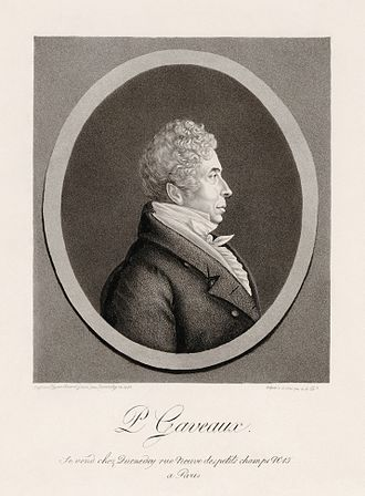 Physiognotrace - Pierre Gaveaux, 1821, by Edme Quenedey (1756–1830) after a physionotrace