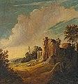 Pieter Symonsz. Potter - Landschap met een ruïne, een herder en schapen (1639).jpg