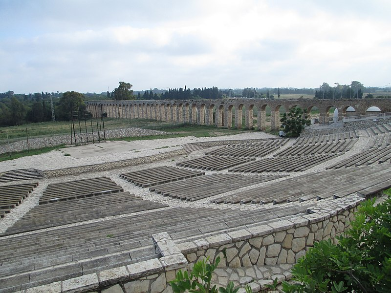 בית לוחמי הגטאות-אמפיתיאטרון ואמת מים