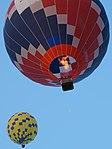 Pilot drops a marker-02 11-05pm 22nd FAI World Hot Air Balloon Championship.jpg