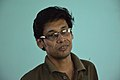 Pinaki Biswas Speaks - Wikimedia Meetup - AMPS - Kolkata 2017-04-23 6788.JPG